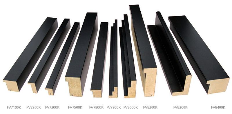 Calgary Kyoto Black Floater frames , custom picture framing